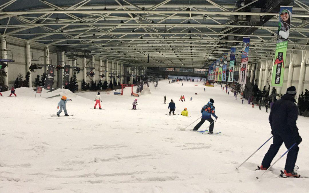 Madrid SnowZone, la pista de esquí de Xanadú